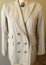 J.Crew Ladies Khaki Pea Coat/Jacket Size 4