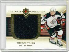 2005-06 Ultimate Collection Premium Swatches - #PSTV Thomas Vanek - MEM, SP