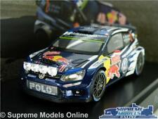 VOLKSWAGEN POLO R WRC RALLY MODEL CAR 1:43 VW LATVALA ANTTILA SCHUCO SPECIAL R0