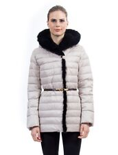 `` Goose Down Jacket Parka w/ Mink Fur sz XL / US 12 / EU 44 $895 Пуховик Норка