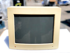 APPLE M0401 RGB MONITOR HIGH RESOLUTION DISPLAY VINTAGE MACINTOSH MONITOR 13 in