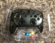 OEM Official Nintendo Switch Black Shell / Housing & Colored SNES Buttons
