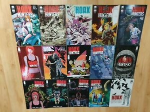 Comics VO : Hoax Hunters # 0-12 + case files. Image comics. 2012 série complète