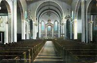 Seattle Washington~Catholic Cathedral~Church Interior~1910 Postcard