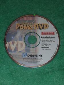 Cyber link powerDVD for Windows 98/Nt4 SP-6/2000/Me multi lingual Inc English