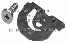 24 CLIPS FOR CAMARO SS FIREBIRD 1967 - 1969 REAR GLASS REVEAL MOULDING