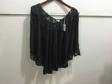Women's plus size 2X nwt lace trimmed pheasant like top