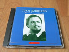 Jussi Björling : His Last performances 1959-1960 - CD Gala 1999
