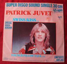Patrick Juvet, swiss kiss / french pillow talk, Maxi Vinyl  import
