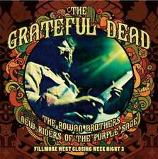 Grateful Dead-FILLMORE west closing week Night 3, 5 CD set NEUF