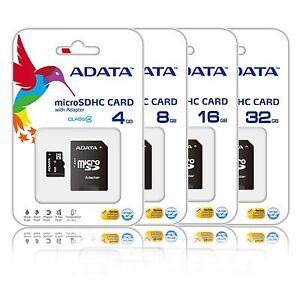 32GB 16GB 8GB 4GB Micro SD HC Class 4 Memory Card Galaxy Tab 3 S4 S5 Lot