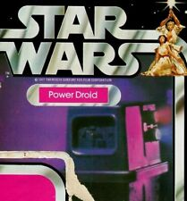 """WE KNOW HIM AS GONK Star Wars Vintage Card Back only Kenner 1977 """"POWER DROID"""""""