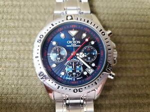 Croton Chronomaster Mens Watch Wrist