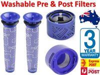 Washable Pre Post Hepa Motor Filter For Dyson V7 V6 V8 Animal Cordless Vacuum AU