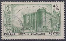 GUYANE : BASTILLE REVOLUTION N° 152 OBLITERATION TRES LEGERE