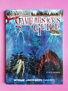IN NOMINE GAME MASTERS GUIDE - RPG ROLEPLAYING ANGELS DEMONS STEVE JACKSON GAMES