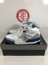 "NIB VNDS VTG OG 2007 (315371-163) Nike Jordan Spiz'ike ""True Blue"" Size 12"