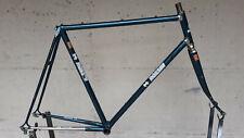 Steel Frame ROSSIN 80s (size 55/56) Tubes COLUMBUS SLX Blue Metallized - Telaio