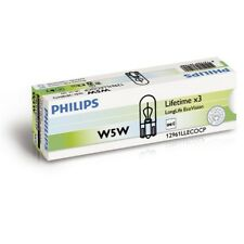 PHILIPS LongLife EcoVision W5W 12V 5W W2,1x9,5d Innenraumleuchte - 12961LLECOCP