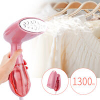 Portable Handheld Electric Iron Garment Fabric Laundry Clothes Steamer Brush