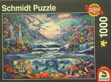SCHMIDT, 1000 pce complete puzzle. MOONLIGHT OASIS.