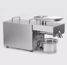 220V Stainless Steel Intelligent Automatic Household Small Oil Press Machine H
