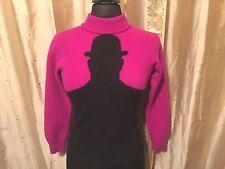Amen Wardy Vintage 80's Rare 100%Cashmere Sweater Size 48 Small Clockwork Orange
