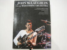 John McLaughln Mahavishnu Orchestra Sheet Music Song Book Piano Vocal Guitar