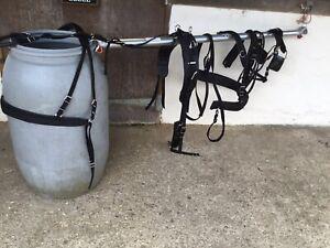 Cob size  Driving harness. Black, Nylon Webbing.( ref 358B)