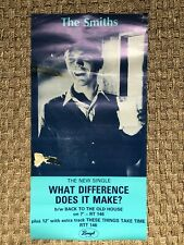 THE SMITHS What Difference Does It UK PROMO POSTER 1984 Rough Trade ORIGINAL