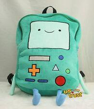 "Adventure Time Plush BMO Beemo Game Plush Backpack 13"" Shoulder Bag"
