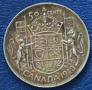 1948 Canada 50 cents -- VF