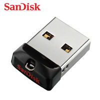 SanDisk 8GB 16GB 32GB 64GB Cruzer Fit USB 2.0 Flash Thumb Drive SDCZ33