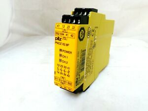 PILZ 777302 PNOZ X2.8P 24-240VAC/DC 3N/O 1N/C SAFETY RELAY