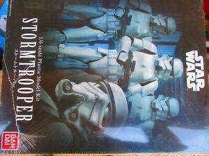 Bandai 210505 1:6 Stormtrooper Star Wars  WRAPPED