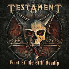 TESTAMENT - FIRST STRIKE STILL DEADLY  DIGIPACK CD NEUF