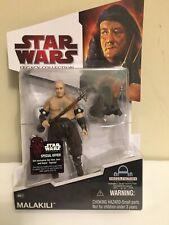 Star Wars Legacy Collection BD22 Malakili Rancor Keeper Figure - NIP