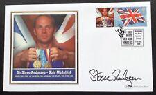 Olympic Gold Medal Winners Benham 2004 Postal Cover Signed Steve Redgrave Sydney