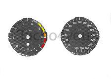 BMW Tachoscheiben für 1er E81 E82 E87 E88 Benziner 300 kmh km/h M1 Carbon Nr 109