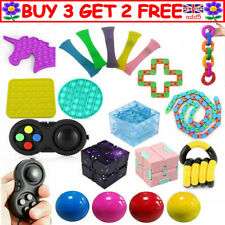 Fidget Toys Set Sensory Tools Bundle Stress Relief Hand Kids Adults ADHD Toy R3K