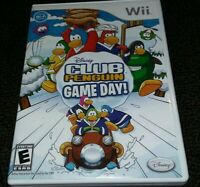 Club Penguin: Game Day! - Nintendo Wii Game - Complete & Tested