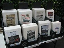 Vintage Automobile Adverts, Over 300, Mounted and bagged. Business opp. Resale.