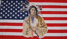 NEW 3x5 ft U.S.A NATIVE AMERICAN INDIAN FLAG