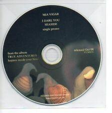(863A) Mia Vigar, I Dare You / Seaside - DJ CD