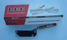 LEE Mold 6 Cavity Mold 358-148-WC 38 Special 357 Magnum New in Box 90380