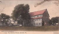 Postcard The Brother House Ephrata PA 1906