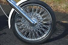 "Ultima 21"" X 2.15"" 80 Twisted Spoke Front Wheel 1984-1999 Harley Softail Chopper"