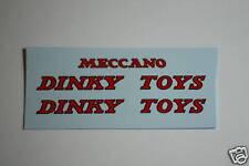 Dinky-Spares | Dinky 930 Pallet Jekta Van | DINKY TOYS MECCANO | Waterslide Tran