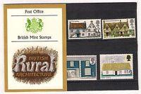 GB 1970 British Rural Architecture Cottages Presentation Pack 15
