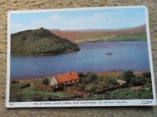 POSTCARD.DOLLARD.HILL OF DOON LOUGH CORRIB NEAR OUGHTERARD CO.GALWAY. POSTED.